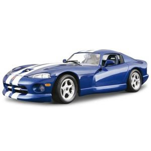 Bburago 1:24 KIT (Stavebnica) Dodge Viper GTS Coupe 1996 Blue