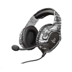 Trust GXT 488 Forze-G PS4 Gaming Headset PlayStation® official licensed product grey 23531