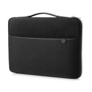 HP Carry Sleeve 15.6 black/silver  3XD36AA