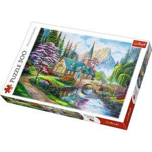 Trefl Trefl puzzle Lesné záťišie 500