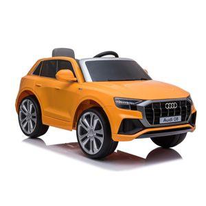 BENEO Elektrické autíčko Audi Q8, 12V, 2,4 GHz dialkové ovládanie, USB / SD Vstup, LED svetlá, mäkké AUDI_Q8_ORANGE