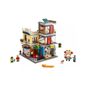 LEGO Creator Zverimex s kaviarňou 31097