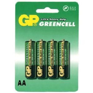 GP Greencell R6 (AA) 4ks B1221