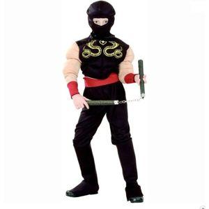 Karnevalový kostým Svalnatý Ninja M