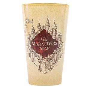 Sklenený pohár Harry Potter – Záškodnícka mapa 500ml M00241