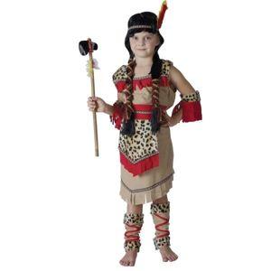 Karnevalový kostým Indiánka s návlekmi M