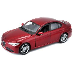 Bburago 1:24 Plus Alfa Romeo Giulia (2016) Metallic Red