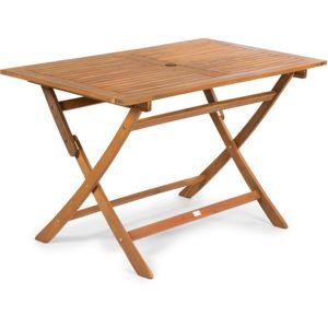 FIELDMANN   FDZN 4011-T  + VYHRAJ PEUGEOT 208 - záhradný stôl drevený, rozmery: 120 x 70 x 74 cm
