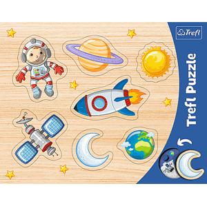 Trefl Trefl Puzzle Rámčekové vkladacie puzzle - Vesmír