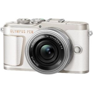 Olympus PEN E-PL10 + 14-42mm EZ Pancake biely V205101WE000