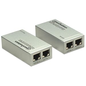 Manhattan HDMI extender Cat5e/Cat6 207386
