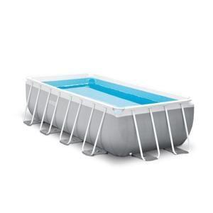 Intex Záhradný bazén 26788 Prism Frame Rectangular 400 x 200 x 100 cm kartušová filtrácia 26788
