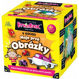ALBI BrainBox v kocke! MOJE 1. OBRÁZKY 008640