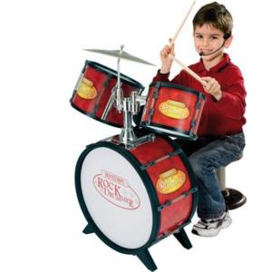 Bontempi Detská bicia súprava 4 diely s elektronikou - Hudobná hračka