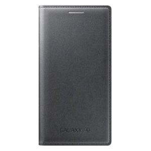 Samsung flipové púzdro EF-FA300BB pre Samsung Galaxy A3 (SM-A300), Čierna