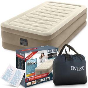 Intex nafukovacia posteľ Ultra Plush Twin s integrovanou elektrickou pumpou 64426